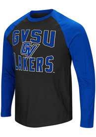 Colosseum Grand Valley State Lakers Black Cajun Tee