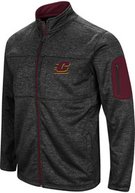 Central Michigan Chippewas Colosseum Glacier Medium Weight Jacket - Charcoal