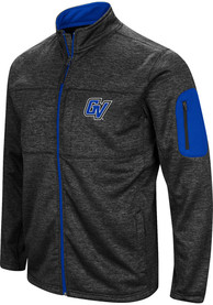 Grand Valley State Lakers Colosseum Glacier Medium Weight Jacket - Charcoal