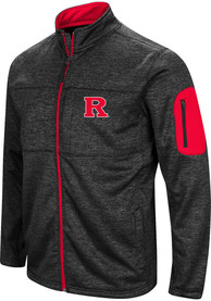 Rutgers Scarlet Knights Colosseum Glacier Light Weight Jacket - Black