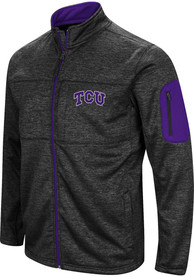 TCU Horned Frogs Colosseum Glacier Medium Weight Jacket - Black