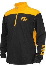 Iowa Hawkeyes Youth Colosseum In The Vault Quarter Zip - Black