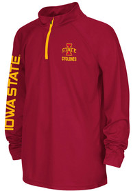 Iowa State Cyclones Youth Colosseum Draft Quarter Zip - Cardinal