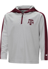 Texas A&M Aggies Toddler Colosseum Helisking 1/4 Zip - Grey