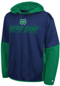 Notre Dame Fighting Irish Youth Colosseum Sleet Hooded Sweatshirt - Navy Blue