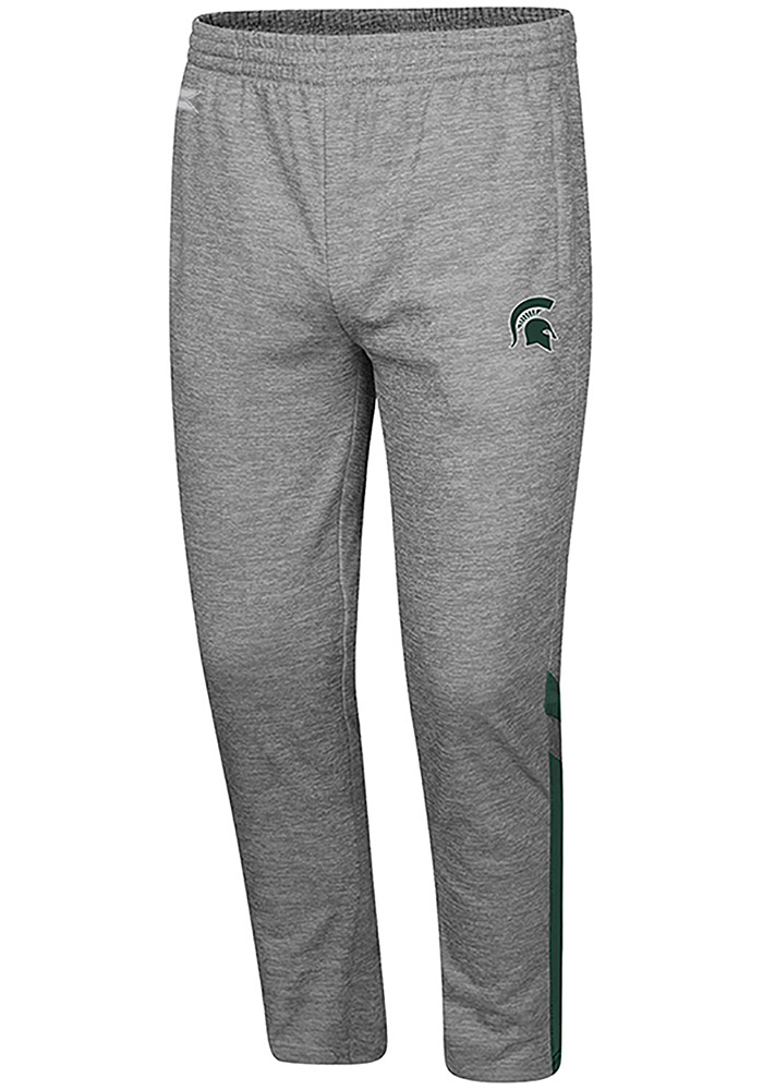 Colosseum Michigan State Spartans Mens Grey Paco Pants - Image 1