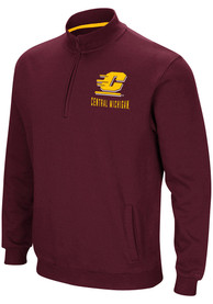 Central Michigan Chippewas Colosseum Playbook 1/4 Zip Pullover - Maroon