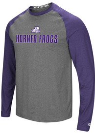 TCU Horned Frogs Colosseum Social Skills T-Shirt - Charcoal