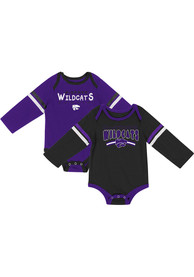 K-State Wildcats Baby Colosseum Super One Piece - Purple
