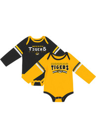 Missouri Tigers Baby Colosseum Super One Piece - Black