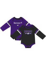 TCU Horned Frogs Baby Colosseum Super One Piece - Purple