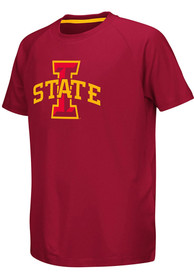 Iowa State Cyclones Youth Colosseum Kramer T-Shirt - Cardinal