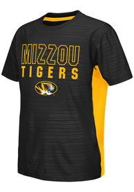 Missouri Tigers Youth Colosseum Cut and Sew T-Shirt - Black