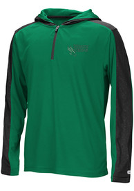 North Texas Mean Green Youth Colosseum Helisking Quarter Zip - Kelly Green
