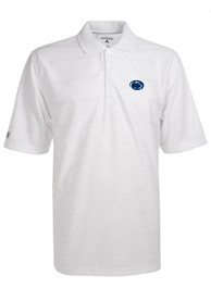 Antigua Penn State Nittany Lions White Tone Short Sleeve Polo Shirt