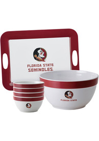 Florida State Seminoles 6-Piece Gift Set Serving Tray