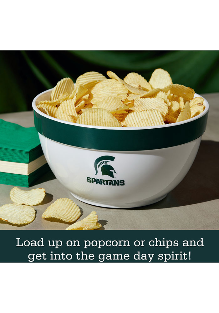 Michigan State Spartans 6-Piece Gift Set Serving Tray - Image 3