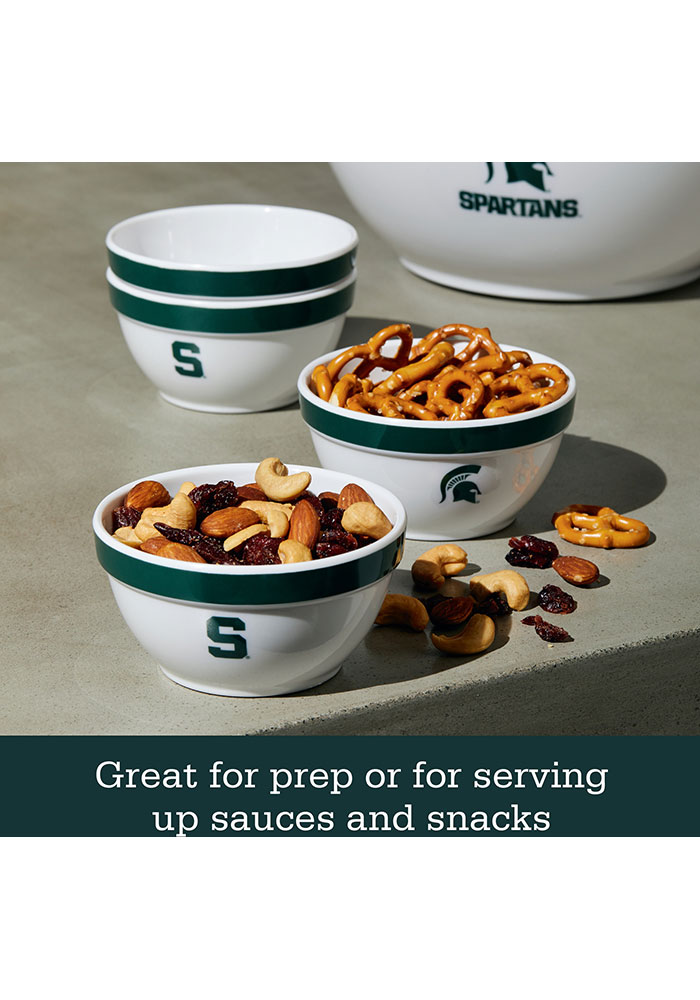 Michigan State Spartans 6-Piece Gift Set Serving Tray - Image 5