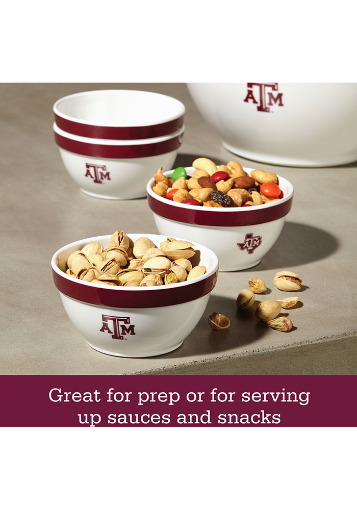 Texas A&M Aggies 6-Piece Gift Set Serving Tray - Image 5