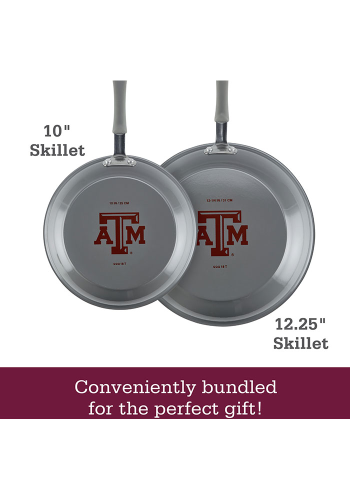 Texas A&M Aggies 2-Piece Frying Pan Gift Set Other - Image 2