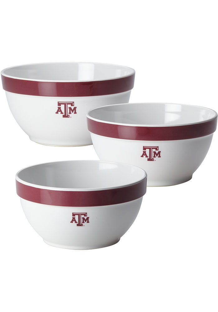 Texas A&M Aggies 3-Piece Bowl Set Other - Image 1
