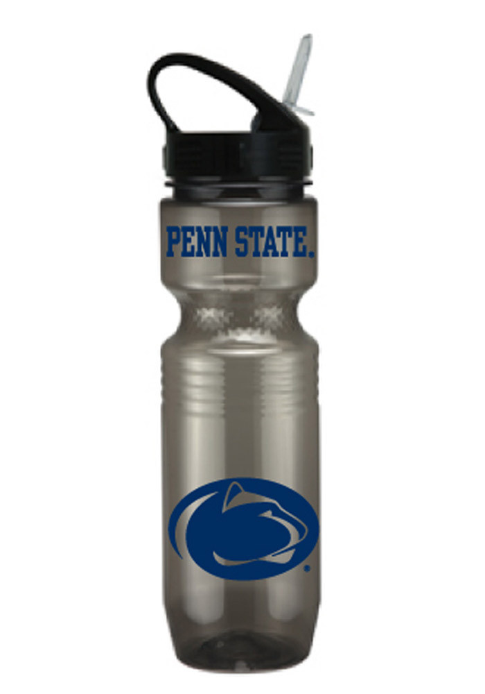 Penn State Nittany Lions Grey Plastic Water Bottle - Image 1