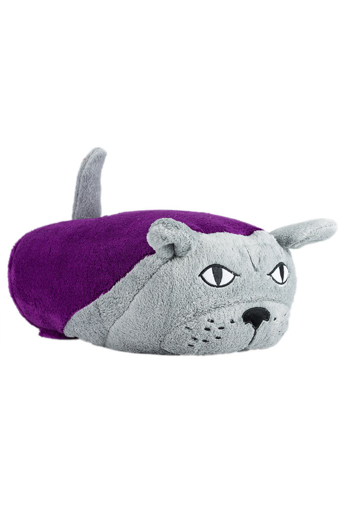 K-State Wildcats Hooded Baby Blanket - Image 1