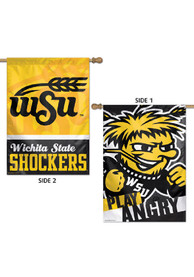 Wichita State Shockers 28x40 2-Sided Banner