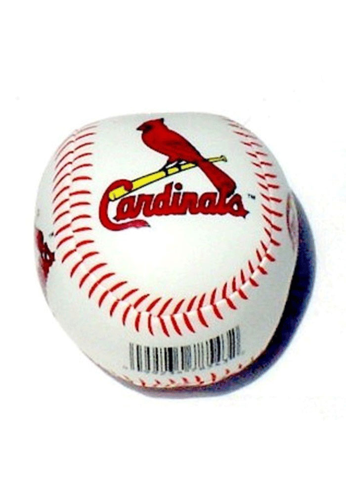 St Louis Cardinals White Softee Ball - Image 1