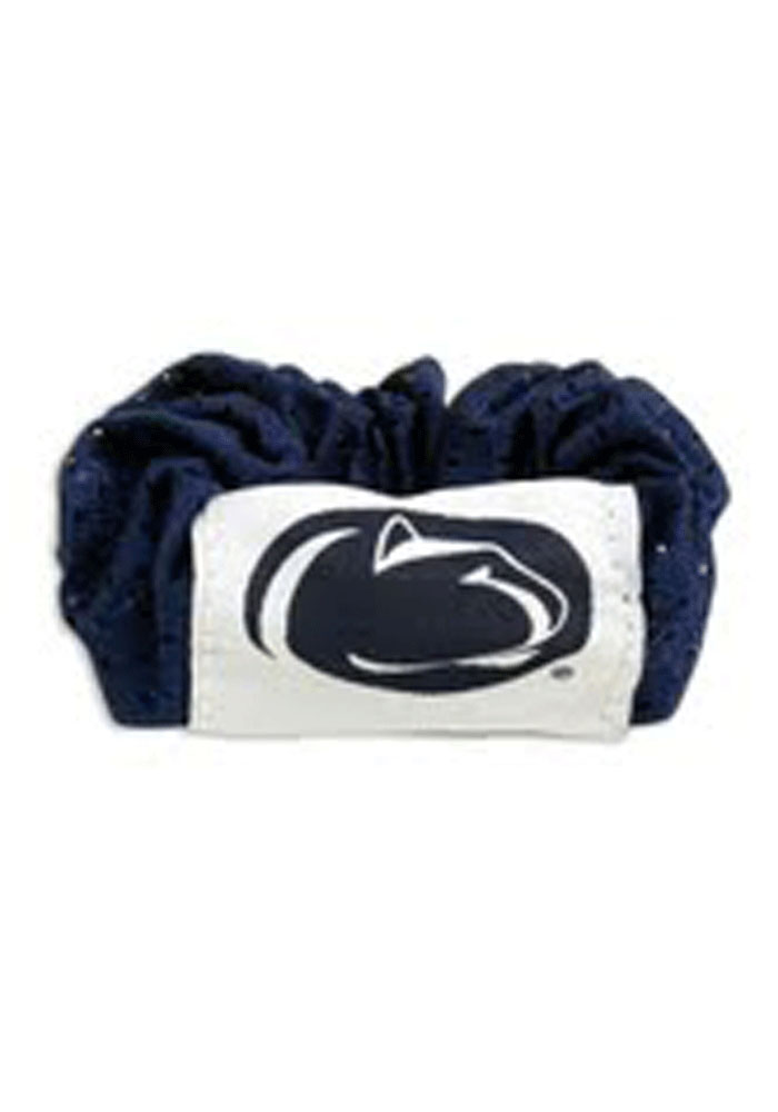 Penn State Nittany Lions Team Logo Youth Hair Scrunchie - Image 1