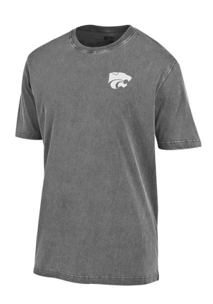 K-State Wildcats Mens Grey Outta Town Tee