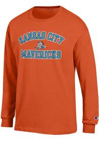 Champion Kansas City Mavericks Orange Heart and Soul Tee