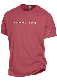 Cincinnati Bearcats Womens Wordmark Dots T-Shirt - Red