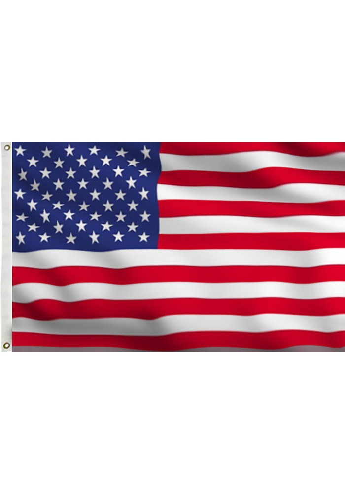 3x5 American Silk Screen Grommet Flag - Image 1