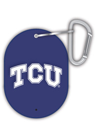 TCU Horned Frogs Carabiner Keychain