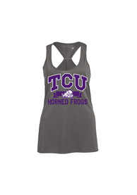 Champion TCU Horned Frogs Juniors Grey Swing Tank Top