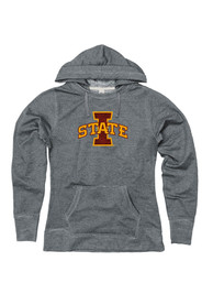 finest selection 4bb6e 2a821 Iowa State Cyclones Womens Grey Dorm Room Hoodie