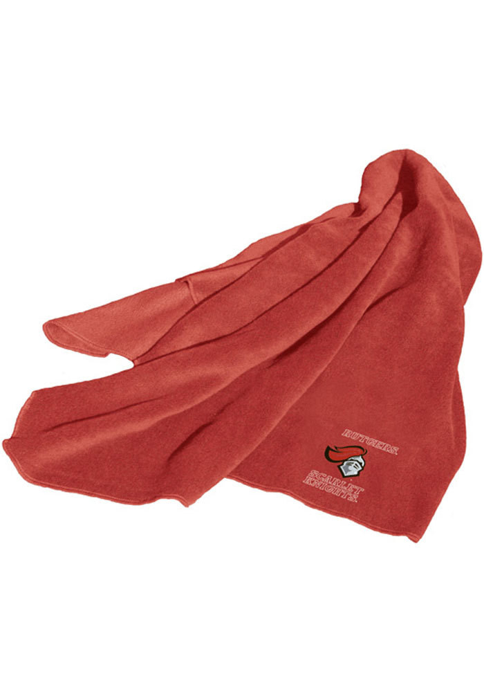 Rutgers Scarlet Knights Throw Fleece Blanket - Image 1