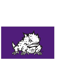 TCU Horned Frogs 3x5 Purple Grommet Applique Flag