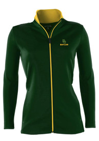 Antigua Baylor Bears Womens Leader Green Medium Weight Jacket