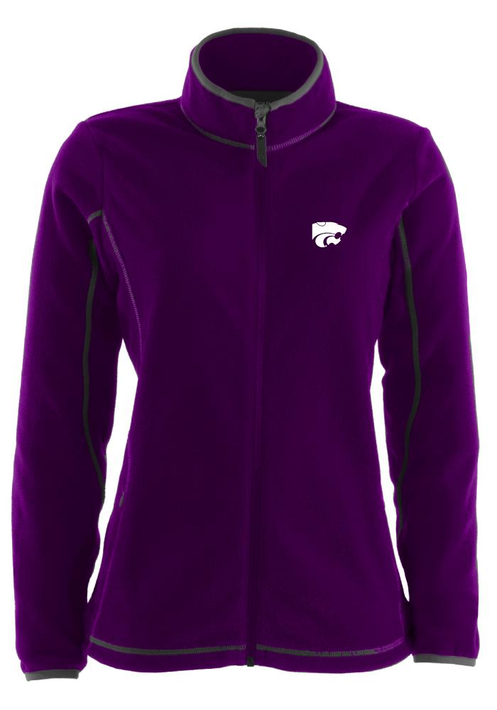 Antigua K-State Wildcats Womens Purple Ice Light Weight Jacket - Image 1