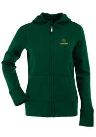 Antigua Baylor Bears Juniors Grey Signature Full Zip Jacket