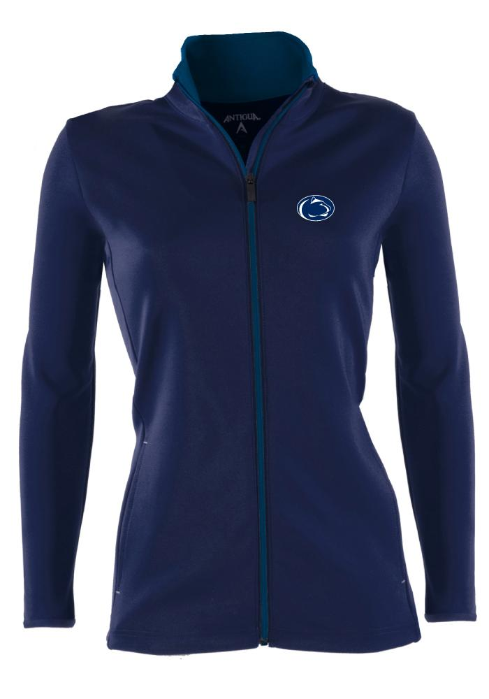 Antigua Penn State Nittany Lions Womens Navy Blue Leader Medium Weight Jacket - Image 1