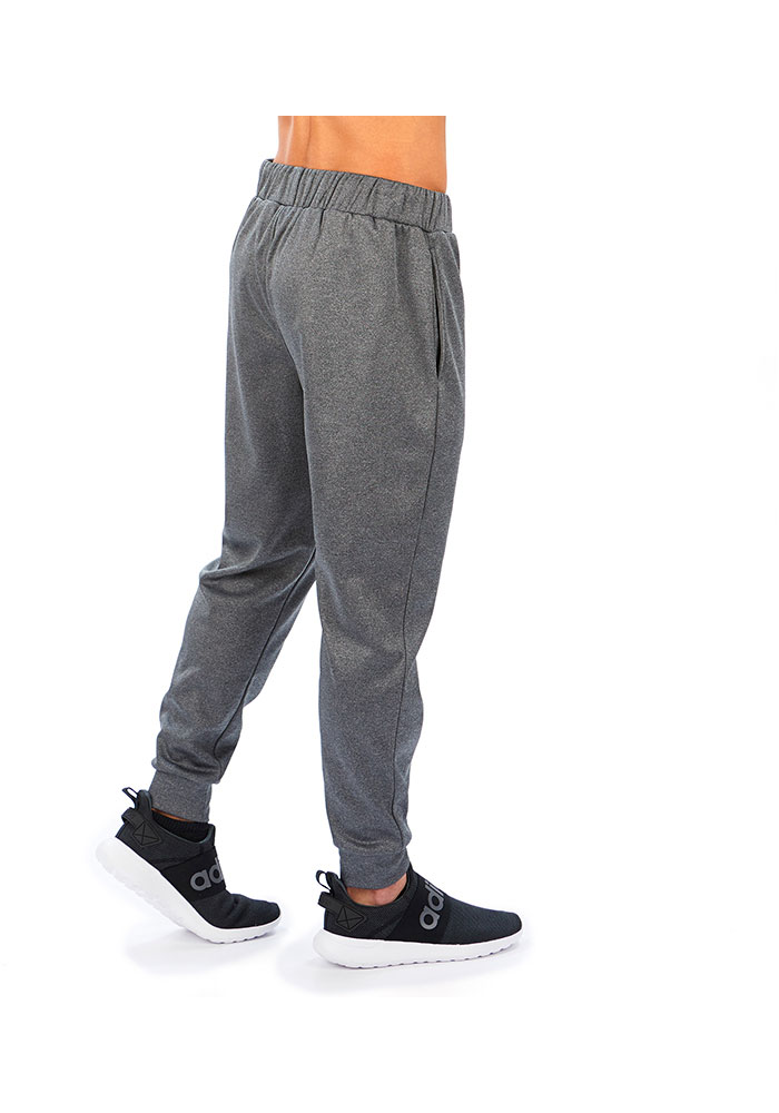 Zubaz Minnesota Vikings Mens Grey Poly-Fleece Jogger Sweatpants - Image 2