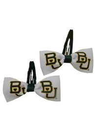 Baylor Bears Baby Clippies Hair Barrette - White