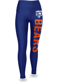Chicago Bears Womens Zubaz Vertical Graphic Pants - Blue