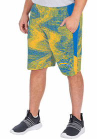 Los Angeles Chargers Zubaz Static Shorts - Blue