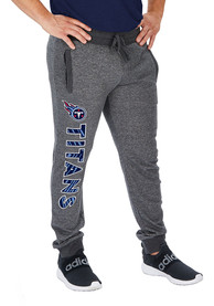 Tennessee Titans Zubaz French Terry Jogger Sweatpants - Grey
