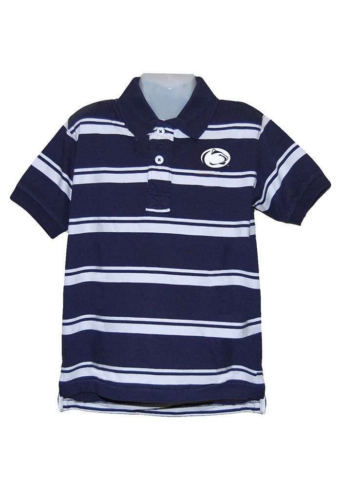 Penn State Nittany Lions Youth Navy Blue Parker Short Sleeve Polo Shirt - Image 1