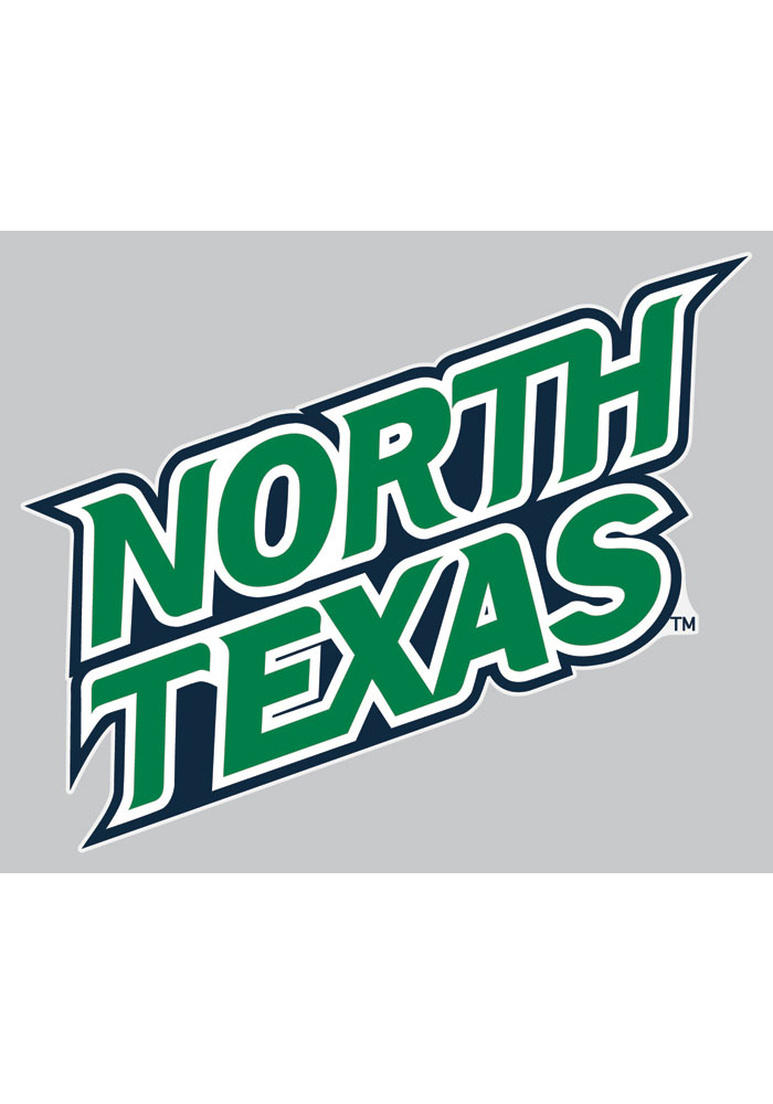 North Texas Mean Green 4x4 Decal - Image 1